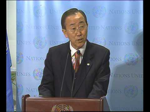 MaximsNewsNetwork: U.N. RENOVATION: S-G BAN KI-MOON at RIBBON CUTTING CERMONY for NEW BUILDING (UNTV)