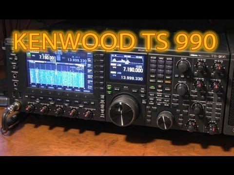 Kenwood TS990 UnBoxing and Basic Review