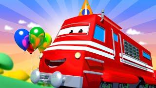 Troy der Zug -  Vatertags Spezial Folge - Carrie'S Überraschungsparty Für Teddy - Autopolis   🚄