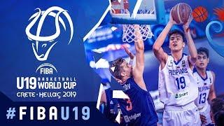 Philippines v Serbia - Highlights - Round of 16 - FIBA U19 Basketball World Cup 2019