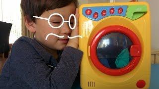 Đồ chơi máy giặt cho bé yêu việc nhà~TOY WASHING MACHINE~ Role Play