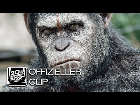Planet der Affen - Revolution   Bridge Piece   Clip Deutsch HD (OV Untertitel)