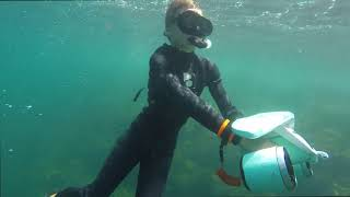 Underwater scooter (Whiteshark) *TEST