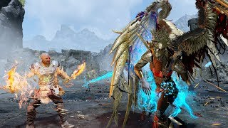 God of War - Slaying the Valkyries - Zeus Build - Blades of Chaos Mastery + Lv. 1 SIGRUN (GMGOW)