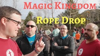 Rope Drop at the Magic Kingdom