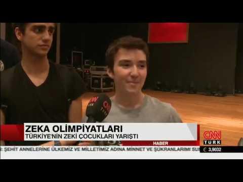 CNN Türk Güne Merhaba Programı Türkiye Zeka Oyunları Olimpiyatı Haberi