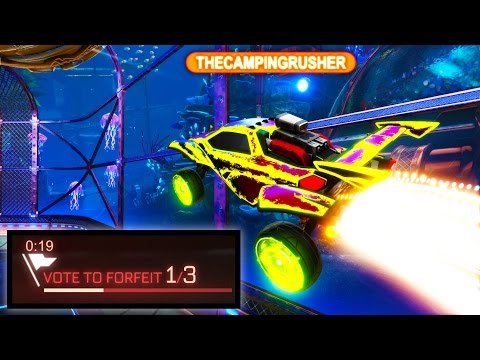 FASTEST FORFEIT EVER IN ROCKET LEAGUE!!