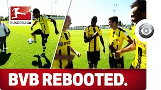Aubameyang's Skills and Cowboy Dembele - Borussia Dortmund Media Day