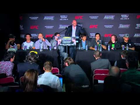 TUF Nations Finale Postfight Press Conference