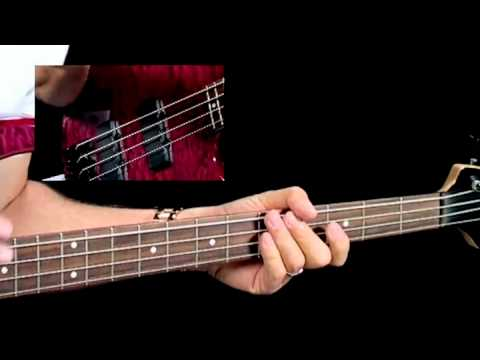 How To Play Blues Bass - #6 Ascending Turnaround - Bass Guitar Lessons For Beginners video
