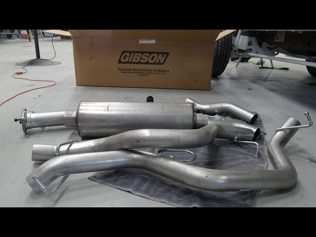 How to Install a Gibson Performance Exhaust System