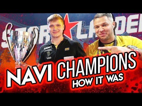 NAVI — SL i-League S5 champions