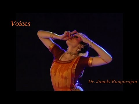 VOICES - a unique Bharatanatyam production by Janaki Rangarajan