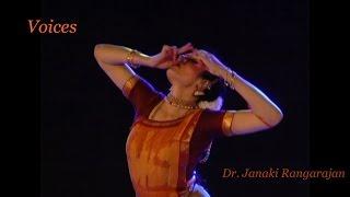 VOICES - a unique Bharatanatyam production by Janaki Rangarajan