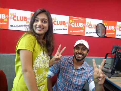 CLUB FM STAR JAM NIVIN PAULY & NAZRIYA NAZIM PART 1