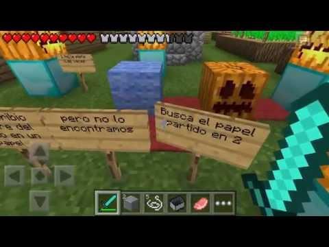 Minecraft PE EL JUICIO Mapa de Suscriptor