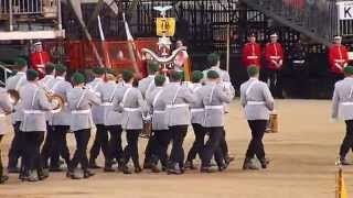 The Household Division's Beating Retreat 2015 05