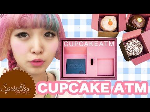 CUPCAKE ATMでSprinklesカップケーキを買ってみた!LA旅