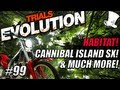 Trials Evolution #99 - THE HABITAT! Cannibal Island SX! Luminary