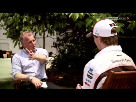 SKY F1 Hulkenberg interview