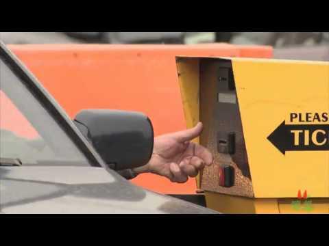 Авто розыгрыш: паркомат шалунишка