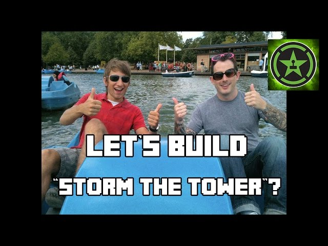 Let's Build in Minecraft - Storm the Tower