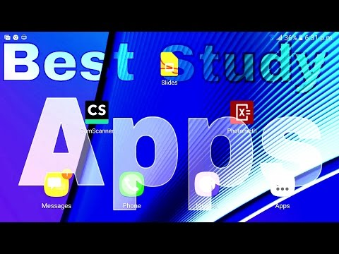 Most Important Study Apps In Android™. [Photomath/Camscanner/Slides]