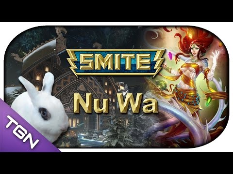 SMITE - New God: Nu Wa Rework ► SMITE - Nu Wa (Nude) Test (german)