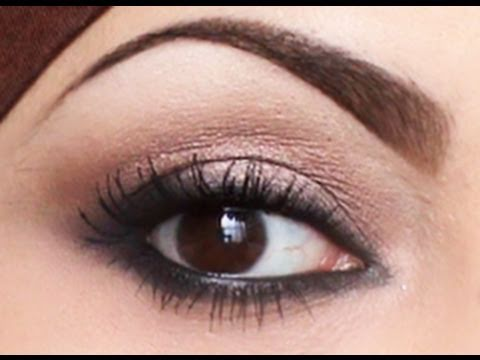 quick easy natural smokey eyes  youtube