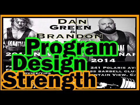 Dan Green program design powerlifting Part 1 Image 1