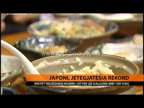 Japoni, jetëgjatësia rekord - Top Channel Albania - News - Lajme