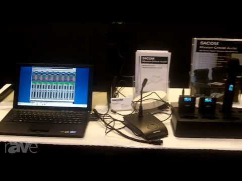 InfoComm 2013: Sacom Mentions DS Series Microphones