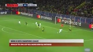 Tin Thể Thao 24h Hôm Nay (19h - 27/9): Ronaldo Tỏa Sáng Giúp Real Madrid Đánh Bại Dortmund