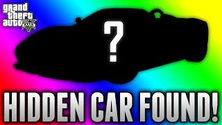 GTA 5 HIDDEN CAR FOUND! - Unseen Secret Car Discovered on GTA 5 (GTA 5 Rare & Secret Cars)