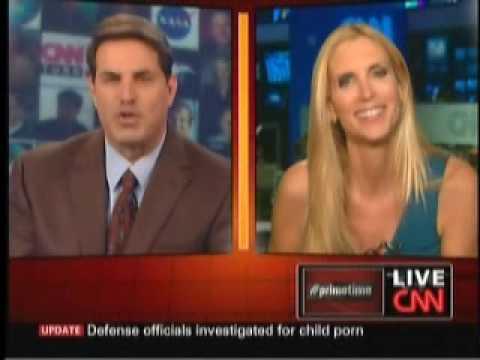 Ann Coulter Slaps Around CNN's Rick Sanchez