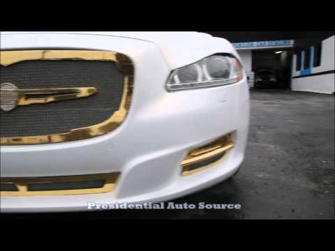 WhipAddict: Gold Plating by Presidential Auto Source; Jaguar, Fisker, Rolls Royce, Donk