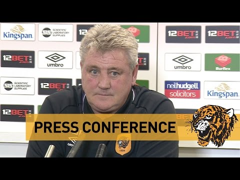 Stoke City v The Tigers | Press Conference With Steve Bruce