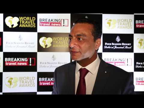 Ayman Lotfy, general manager, Wyndham Grand Regency Doha