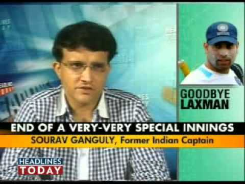 Sourav Ganguly Slams Selectors For Vvs Laxman's Retirement - Part 2 Of 6 video