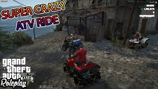 CRAZY ATV ADVENTURE | WATER WHEELIES AND MUD HOLES! | WILD SIDE RP