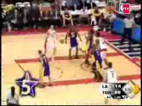 Lakers Top 10 plays of the 2008 NBA Season and Playoffs. Credit to NBA TV and NBA.com.