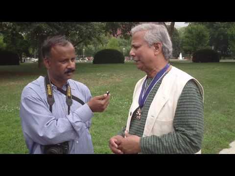 Medal of Freedom: Dr. Muhammad Yunus
