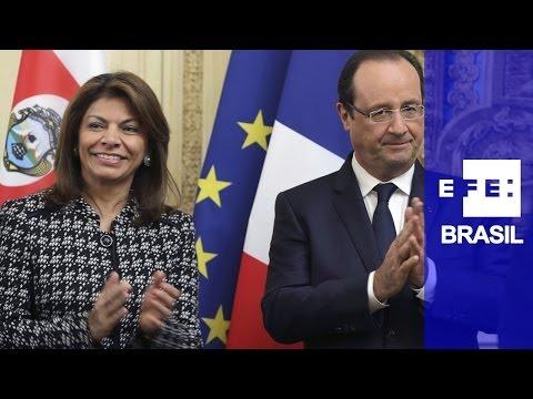 Presidente da Costa Rica condena assassinato de jornalistas franceses em Mali