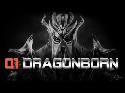 Let's Play Skyrim Dragonborn German - INTRO - Part 1