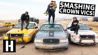 Taxi Cab Rallycross: Door-to-Door Smashing Crown Vics For The 2019 Taxiderby