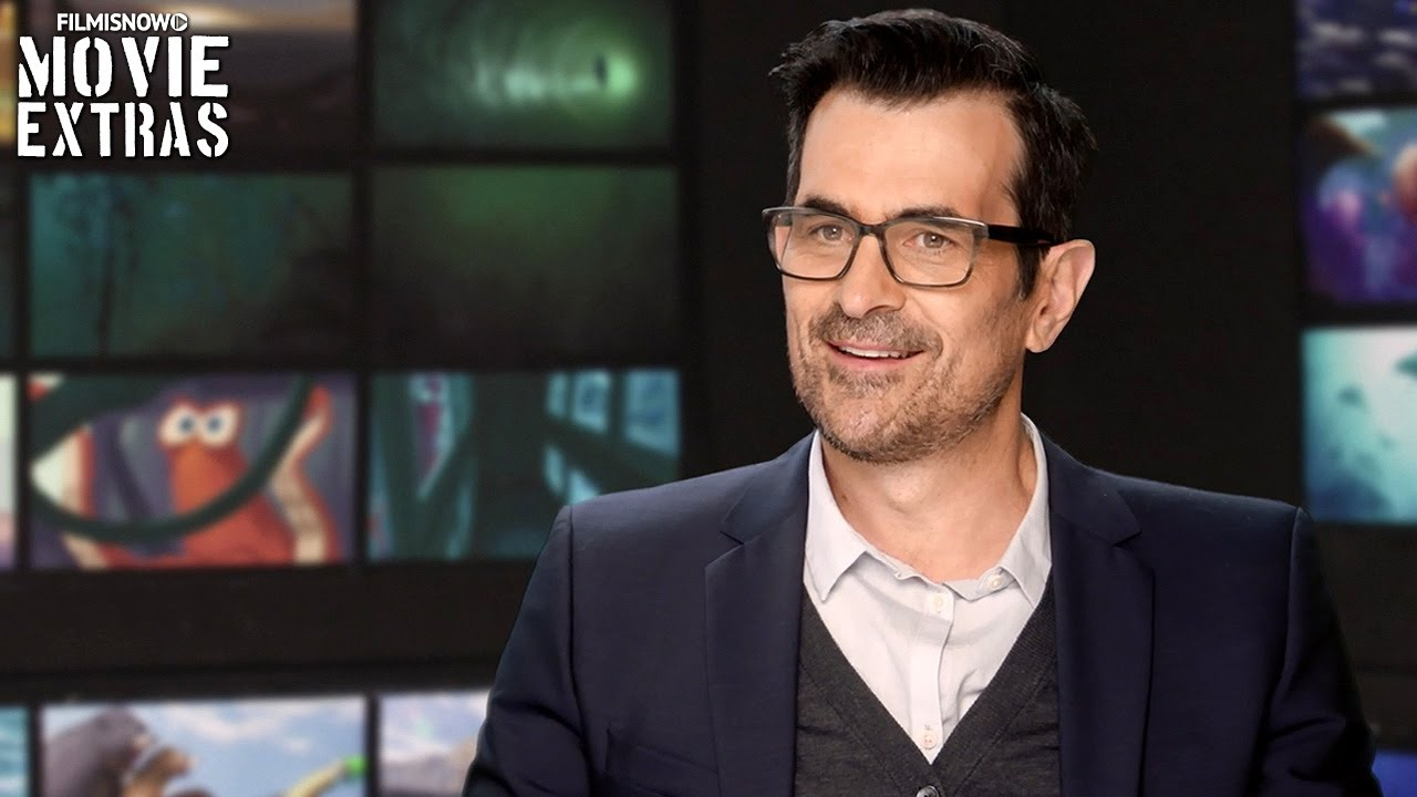 Finding Dory | On-set with Ty Burrell 'Bailey' [Interview]