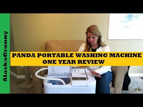 Panda Compact Washing Machine 1 Year Review