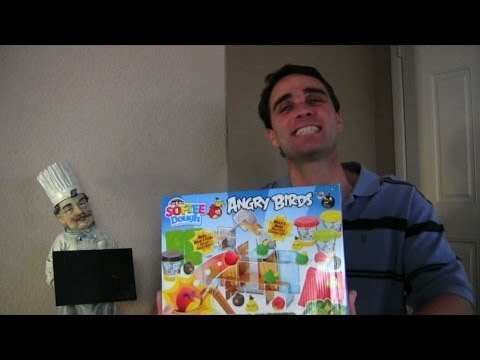 Angry Birds Softee Dough Review + Unboxing    Toy Reviews    Konas2002