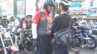 Video Asli Aksi Pesepeda Hadang Konvoi MOGE di Yogyakarta