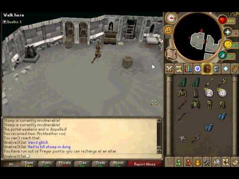 Runescape Dungeoneering Glitch video